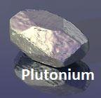 Plutonium a fearful and strange shiny metal