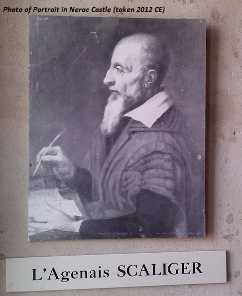 Jules Scaliger, physician to Nerac court.